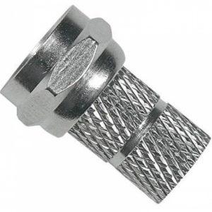 CONECTOR F ROSCA RG59 100PCS-0