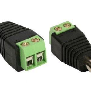 CONECTOR P4 C/ BORNE ALIMENTACAO-0
