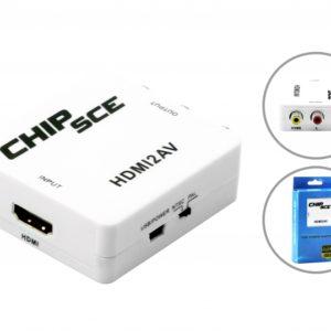 CONVERSOR HDMI P/ RCA-0